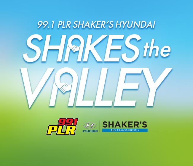 99.1 PLR Shaker's Hyundai Shakes the Valley