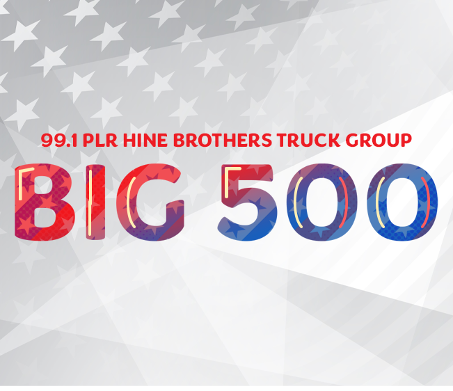 """99.1 PLR Hine Brothers Truck Group """"Big 500"""""""