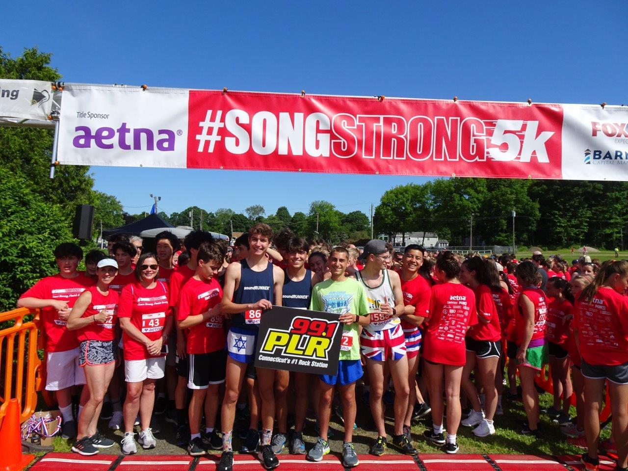 Song Strong 5K in Guilford 6/8/19