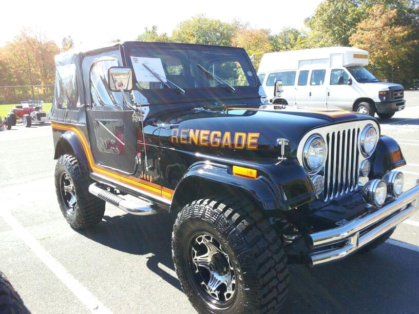 AJ's Car of the Day: ( Or in this case, Jeep ) 1986 Jeep CJ7 Renegade