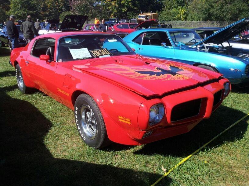 "AJ's ""Badass Friday"" Car of the Day: 1972 Pontiac Firebird Trans Am 455 SD"