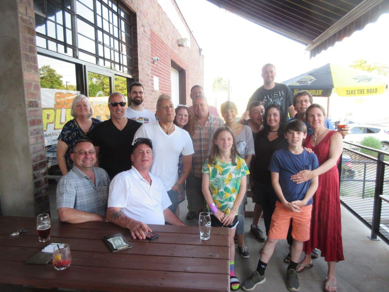 Chaz & AJ Monthly Meal at Brewport 6/26/19