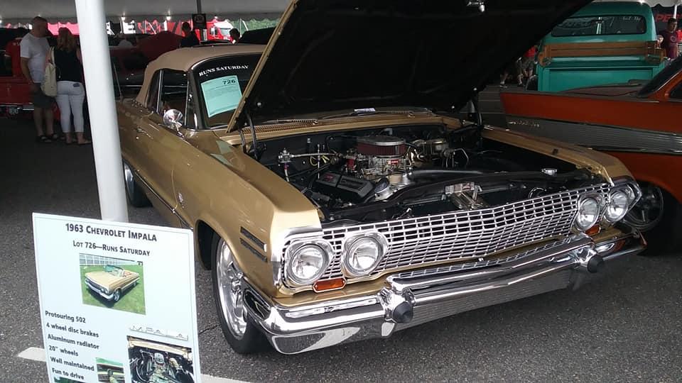 AJ's Car of the Day: 1963 Chevrolet Impala Convertible