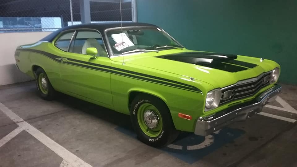 """AJ's """"Badass Friday"""" Car of the Day: 1973 Plymouth 340 Duster Hardtop Coupe"""