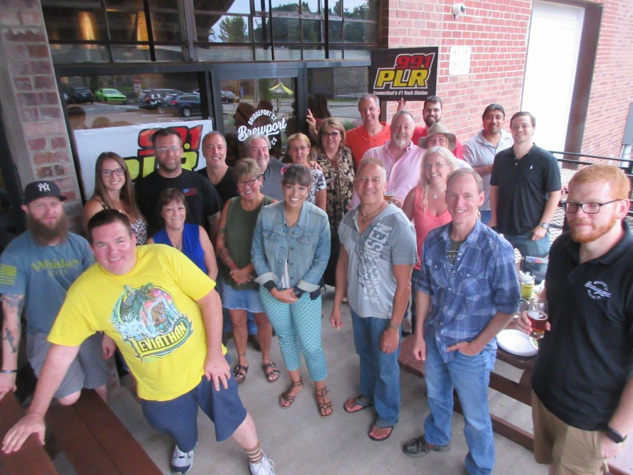 Chaz & AJ Monthly Meal at Brewport 7/23/19