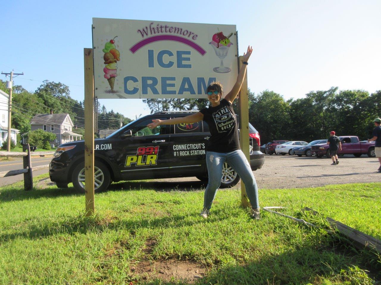 Shakers Hyundai Shakes the Valley at Whittmore's Ice Cream 8/8/19
