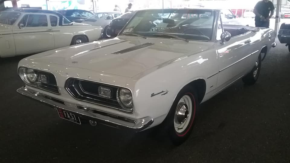 AJ's Car of the Day: 1967 Plymouth Barracuda Convertible
