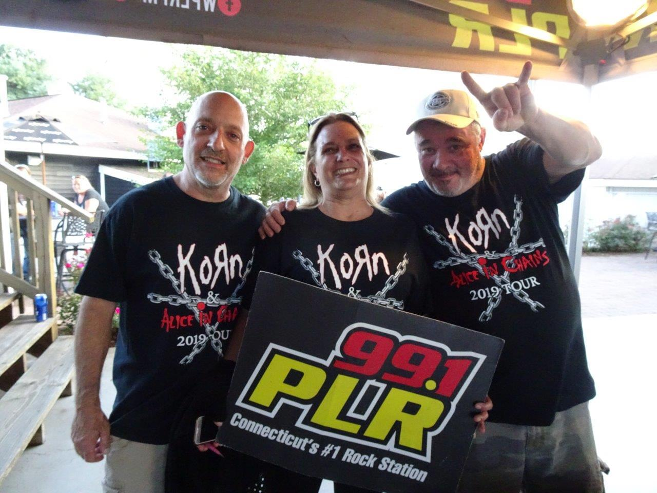 Korn and Alice in Chains at Xfinity Theater 8/10/19