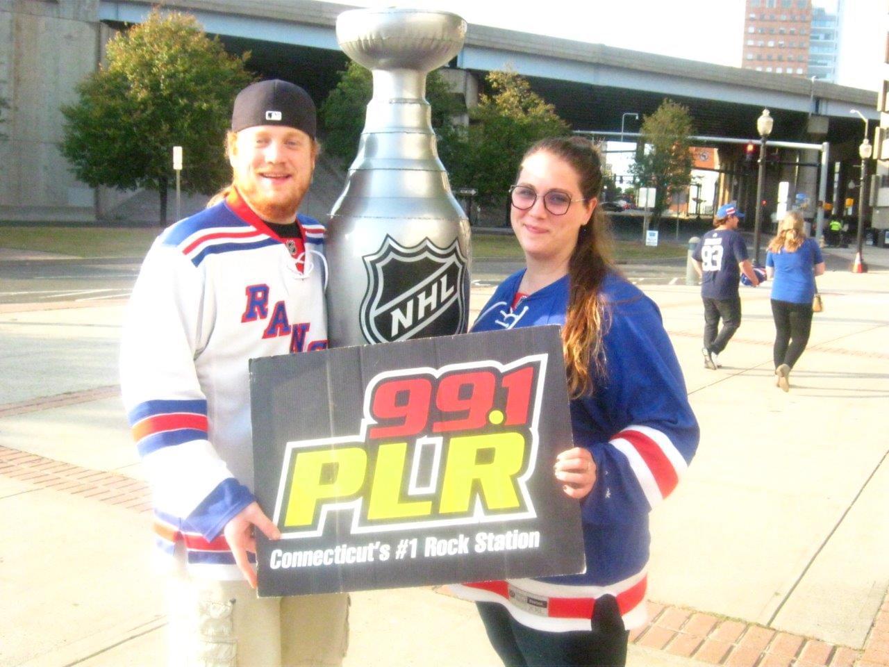Rangers vs. Islanders at Webster Bank Arena 9/28/19