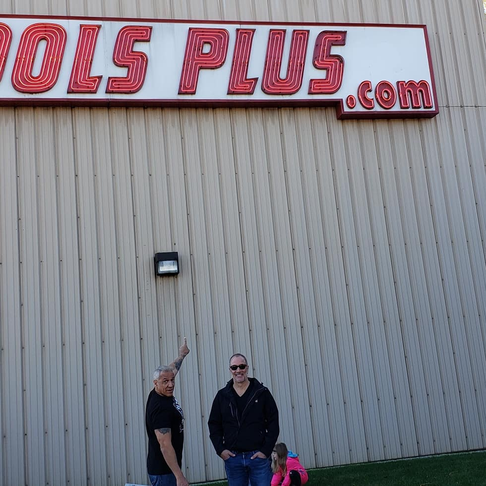 Chaz and AJ at Tools Plus 10/19/19