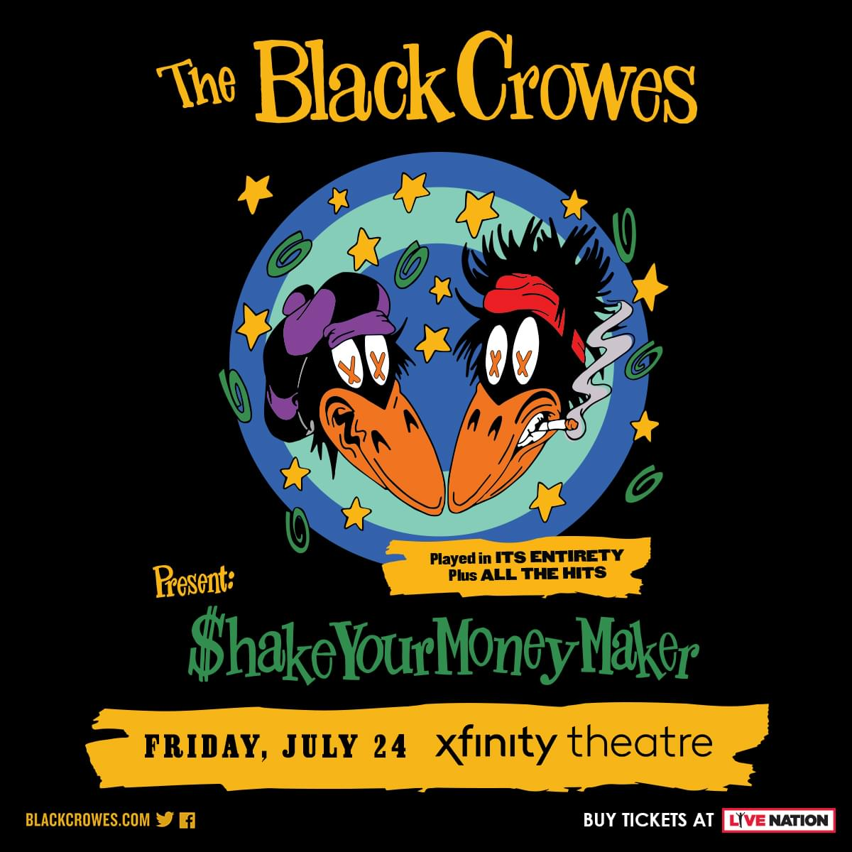 Win tickets to The Black Crowes