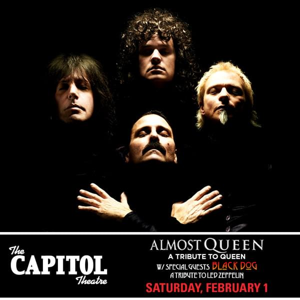 Enter to win: Almost Queen at Capitol Theatre