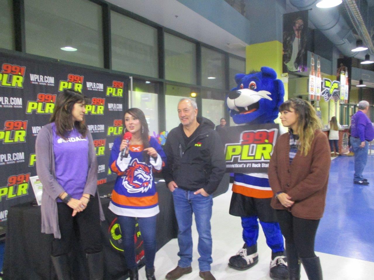 Bridgeport Sound Tigers Alzheimer's Awareness Night 11/23/19
