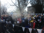 Run for Refugee's at Wilbur Cross High School in New Haven 2/2/20