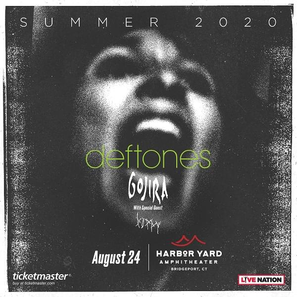 Enter to win: Deftones at Harbor Yard Amphitheater