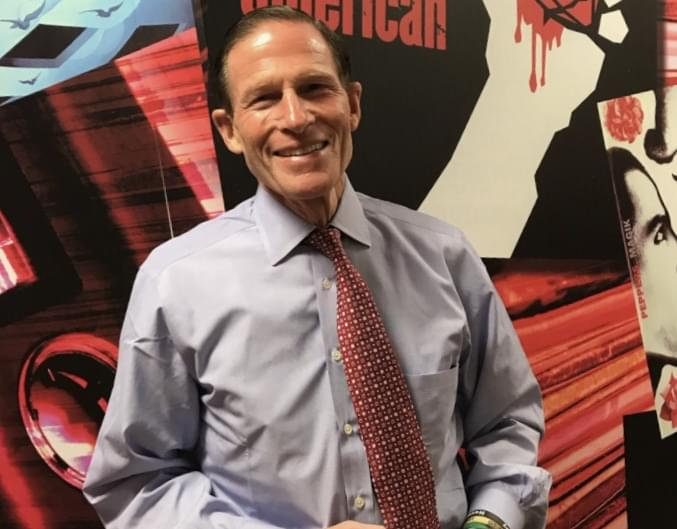 """PODCAST – Monday, February 24: Senator Blumenthal Stops By, Why Are You At Court Today, And Hear Our """"Singing"""" Voices"""