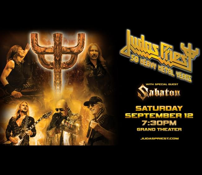 Enter to win: Judas Priest at Foxwoods
