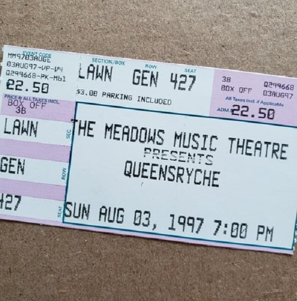Throwback Concert: Queensrÿche at Meadows Music Theatre 1997