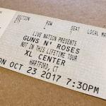 Throwback Concert: Guns N' Roses at The XL Center 2017