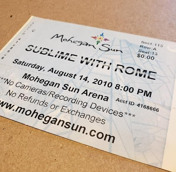 Throwback Concert: Sublime with Rome at Mohegan Sun Arena 2010