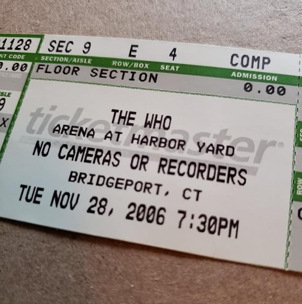 Throwback Concert: The Who at Arena at Harbor Yard 2006