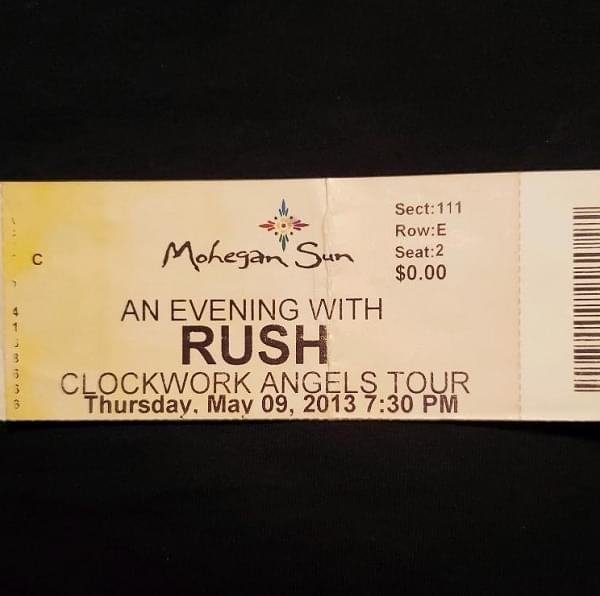 Throwback Concert: RUSH at Mohegan Sun Arena 2013