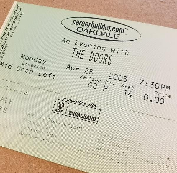 Throwback Concert: The Doors of the 21st Century at Toyota Oakdale Theatre 2003