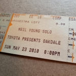 Throwback Concert: Neil Young at Toyota Oakdale Theatre 2010