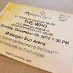 Throwback Concert: The Who at Mohegan Sun Arena 2012