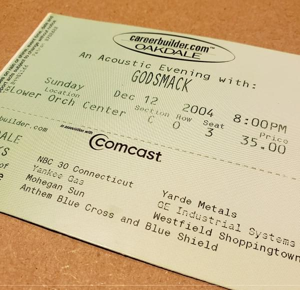 Throwback Concert: Godsmack at Toyota Oakdale Theatre 2004