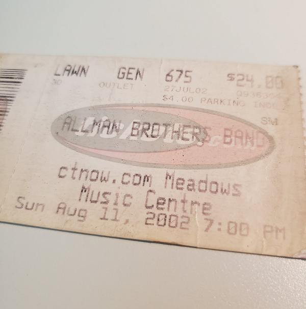 Throwback Concert: The Allman Brothers Band at XFINITY Theatre 2002