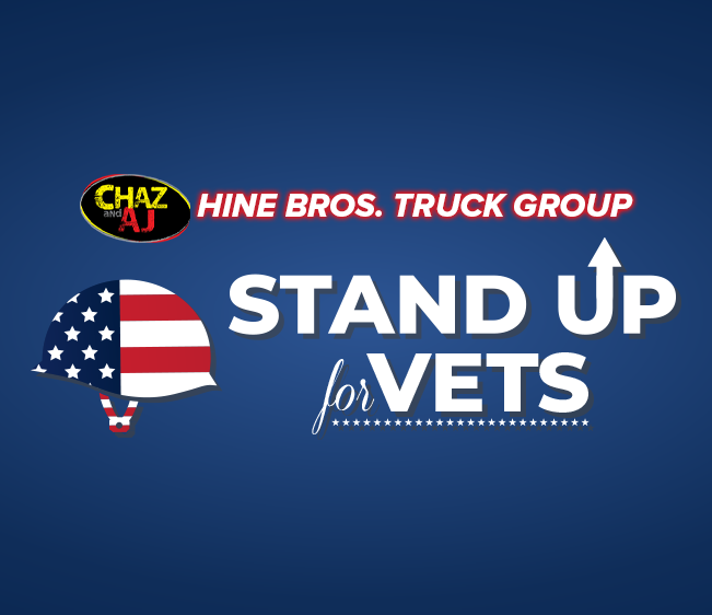 Chaz & AJ Hine Bros. Truck Group Stand Up For Vets
