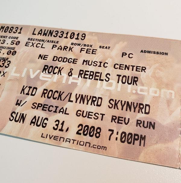 Throwback Concert: Lynyrd Skynyrd & Kid Rock at The XFINITY Theatre 2008