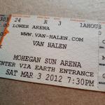 Throwback Concert: Van Halen at Mohegan Sun Arena 2012