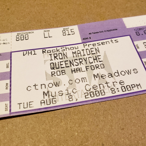 Throwback Concert: Iron Maiden at The XFINITY Theatre 2000