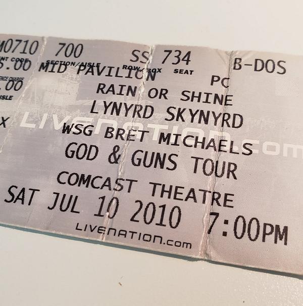 Throwback Concert: Lynyrd Skynyrd at The XFINITY Theatre 2010