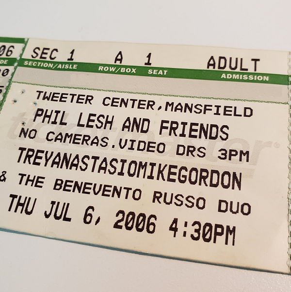 Throwback Concert: Phil Lesh & Friends at XFINITY Center 2006