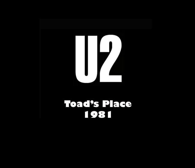 Throwback Concert: U2 at Toad's Place 1981