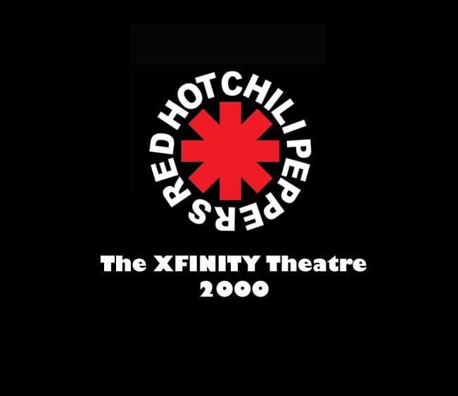 Throwback Concert: Red Hot Chili Peppers at The XFINITY Theatre 2000