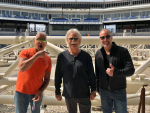 Photos: Chaz and AJ tour the new Harbor Yard Amphitheater
