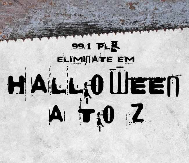 99.1 PLR Eliminate Em Halloween A to Z