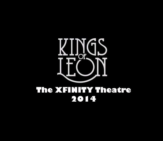 Throwback Concert: Kings of Leon at The XFINITY Theatre 2014