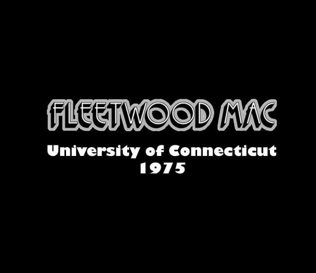 Throwback Concert: Fleetwood Mac at UConn 1975