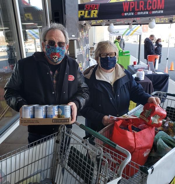 Photos: 99.1 PLR Sam Tilery Food Drive