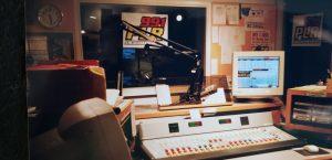 WPLR Air Studio circa 2001