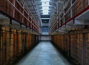 Alcatraz cells. U.S. Penitentiary Alcatraz