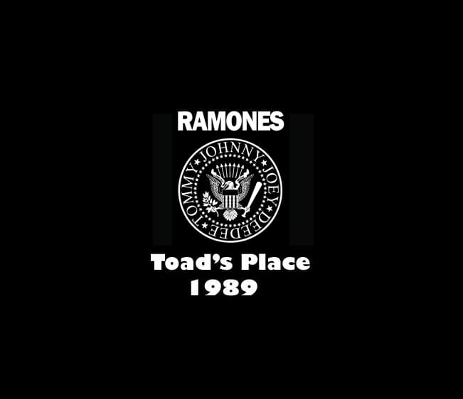 Throwback Concert: Ramones at Toad's Place 1989