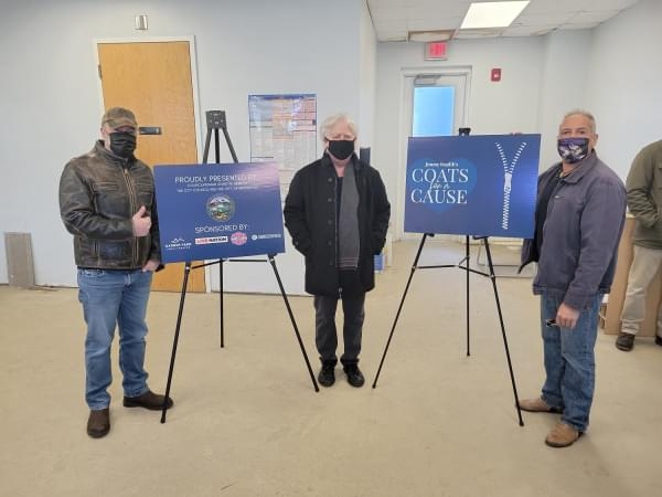 Photos: Jimmy Koplik's Coats For A Cause Press Conference