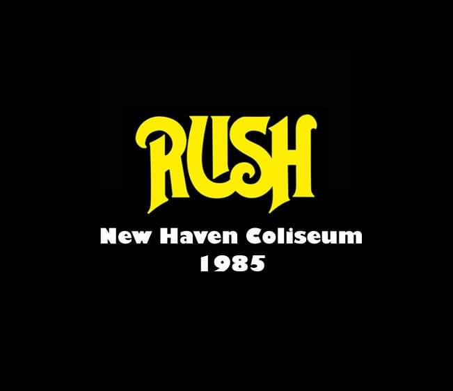 Throwback Concert: Rush at New Haven Coliseum 1985