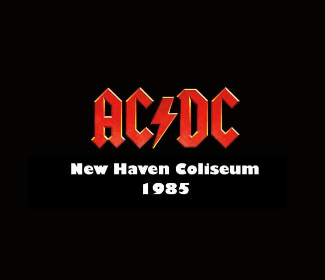 Throwback Concert: AC/DC at New Haven Coliseum 1985